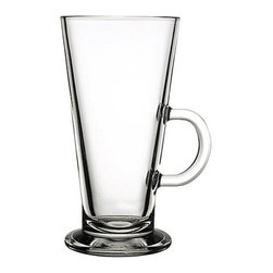 Hospitality Glass - 6.5H x 3.25T x 3B 12 oz Irish Coffee Glasses 24 Ct - 12 oz Irish Coffee