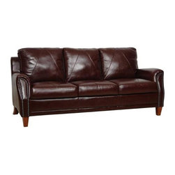 Luke Leather - Austin 2 Piece Set - Austin-SC - Set Includes Sofa, Chair