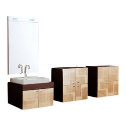Iotti - 28 Inch Bathroom Vanity Set - The height of fashion and luxury, this vanity set pleases the eye and will last for years and years.