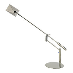 Trend Lighting - Slant Task Table Lamp, Diamond - -120 Volts