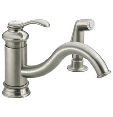 traditional kitchen faucets by Rebekah Zaveloff