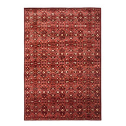 Ralph Lauren Lakehouse Red - Ralph Lauren Sheldon Lakehouse Red area rug.  Available at Hemphill's Rugs & Carpets - Orange County, CA