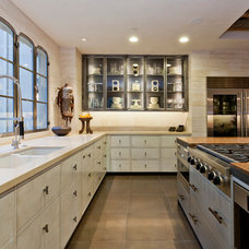 Eclectic Kitchen by Noel Cross+Architects