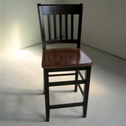 Mission Style Counter Stool - Made by www.ecustomfinishes.com