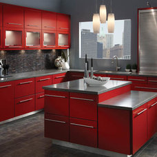 Contemporary Kitchen Cabinetry by Anew Kitchen and Bath Design Experience