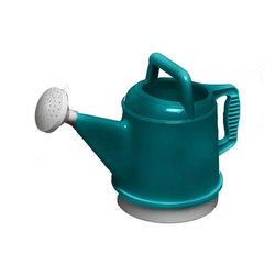 Bloem - Bloem 2.5 Gallon Deluxe Watering Can Sea-Struck DWC2-32 - Easy to handle and grip
