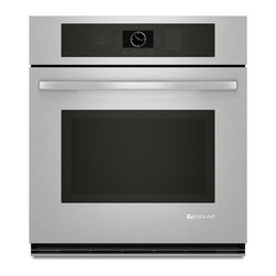 """Jenn-Air 27"""" Single Electric Wall Oven, Stainless/blk   JJW2427WS - 3.4 CU FT OVEN CAPACITY"""