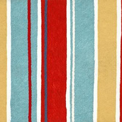 Home Decorators Collection - Beach Stripes Doormat - Our Beach Stripes Doormat presents a pattern of brightly colored, irregular stripes, reminiscent of a beach towel. Coming home is a vacation with this long-lasting synthetic doormat. Crafted of durable synthetics. Vacuum and spot clean. To clean fully, gently scrub with mild detergent and water, rinse with hose and let dry.