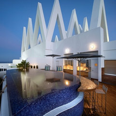modern pool by Pepe Calderin Design- Miami Modern Interior Design