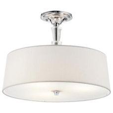 Bathroom Vanity Lighting Crystal Persuasion Semi-Flushmount by Kichler