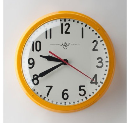 Modern Clocks by Schoolhouse Electric