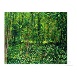 Woods and Undergrowth, c.1887 -