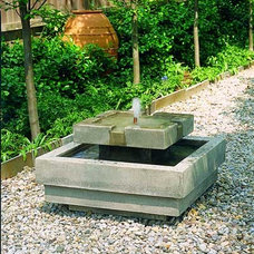 Traditional Outdoor Fountains And Ponds by Serenity Health & Home Decor