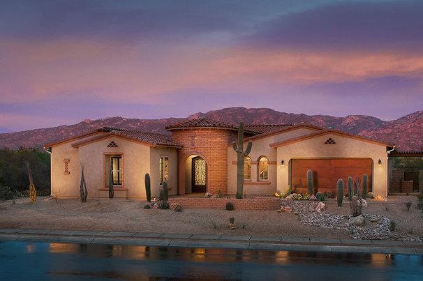 Mediterranean Exterior by Maracay Homes Design Studio