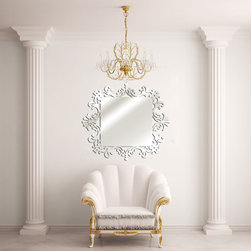 home design - • This acrylic mirror is exclusive design. It has the same quality as the glass mirror but more stylish. A great decoration for your bathroom or any other room in your house.