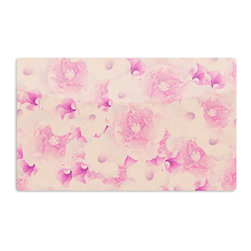 "Kess InHouse - Deepti Munshaw ""Blush Bouquet"" Pink Roses Aluminum Magnet - Decorate your fridge, locker or cubicle at work with small aesthetic pops of color. Made of a durable aluminum, these premium magnets are hand pressed and measure 3"" x 2"". Great for holding up to do lists, photos or coupons, these small pieces of art can make your fridge your own personal gallery."