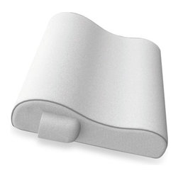 Soft Spa Memory Foam Massaging Bath Pillow with Wireless Remote Control - For a relaxing soak in the tub, I love a comfortable bath pillow. This one looks just right. It's a wish list item for my new house.