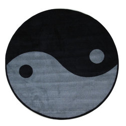 """Fun Rugs - Kids Fun Time Shape Round 4'3"""" Round Multi Area Rug - The Fun Time Shape area rug Collection offers an affordable assortment of Kids stylings. Fun Time Shape features a blend of natural Multi color. Machine Made of 100% Nylon the Fun Time Shape Collection is an intriguing compliment to any decor."""