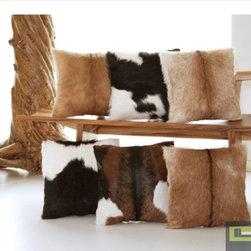 Goat Fur Pillows -