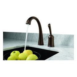 Delta - Pilar Single Handle Bar/Prep Faucet with Touch2O and Diamond Seal Technology - Delta 1980T-RB-DST Pilar Single Handle Bar/Prep Faucet with Touch2O and Diamond Seal Technology in Venetian Bronze.
