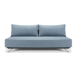 SupreMax Sleek Excess Sofa by Innovation - Features: