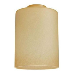 Westinghouse - Westinghouse 6-1/2 in. x 4-3/4 in. Amber Mist Cylinder 8570000 - Shop for Lighting & Fans at The Home Depot. This Westinghouse Lighting 6-1/2 in. x 4-3/4 in. Amber Mist Cylinder features a cylindrical shape and textured amber color that adds refined presence to any interior. Westinghouse's customizable products inspire creativity for quick and easy home upgrades. Choose your shade, select your fixture and finish, and enjoy your new custom lighting. Because it features a standard 2-1/4 in. fitter, this shade will work with a variety of lighting configurations-from mini-pendants to wall fixtures. Install this shade in your bathroom, kitchen, hallway, or bedroom. Wherever you place it, you will enjoy the shade's warm coloring. The shade is 6-1/2 in. high x 4-3/4 in. in diameter. The handcrafted nature of glassware produces minor differences in design and sizing. Subtle variations will occur from piece to piece, adding to each one's unique qualities. Measurements may vary slightly.