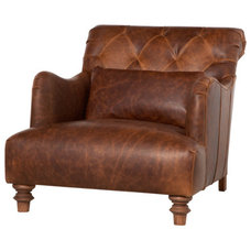 traditional armchairs by Cisco Brothers