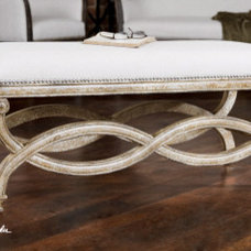 "Modern Upholstered Benches by Santa Monica Bay Lighting Since ""1976"""
