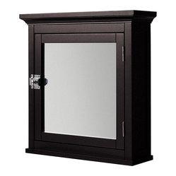 Elite - Classique Espresso Medicine Cabinet - Spiff up your bathroom and store your sundries in ...