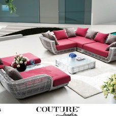Contemporary Outdoor Sofas by COUTURE International