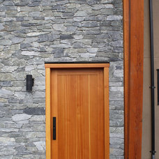 Modern Front Doors by Calibre Doors & Millwork Ltd