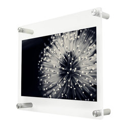 Wexel Art - 1210D Double Panel Acrylic Wall Frame 12x10 - NOTE: Photos not included
