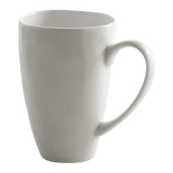 Sculptured Dishware - Mug - Sculptured dishware mugs hold up to 12 oz of your favorite warm beverage.