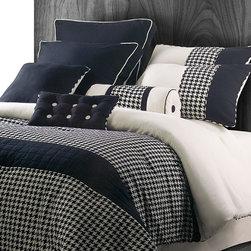 Houndstooth 9-piece Comforter Set -