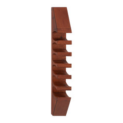 Classy Styled Wood Wall Wine Rack - Description: