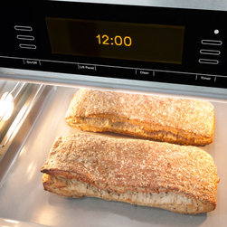 Miele Combi-Steam Oven - The combination mode allows you to regulate both the cooking method and temperature, but also the moisture level. By introducing moisture into the cooking process, the oven creates an environment that is ideal for both browning and searing meats, as well as baking moist cakes and breads.