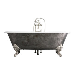 "Penhaglion - 'The Chesterton' 73"" Long Cast Iron Bathtub Package from Penhaglion - Product Details"