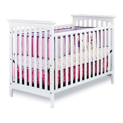 Child Craft - Child Craft Monterey 3-in-1 Convertible Stationary Crib - White - F10391.46 - Shop for Cribs from Hayneedle.com! Fusing timeless design elements with modern metropolitan style the Child Craft Monterey 3-in-1 Stationary Crib - White looks perfect just about anywhere. These simple lines are sure to complement any nursery and parents will love how this crib easily converts to a day bed to a toddler bed with all included parts (toddler bed conversion stretcher rail is included - toddler bed guard rail sold separately). Constructed from selected hardwoods and finished in baby-safe non-toxic White finish this crib is complete with a strong steel mattress support. The mattress support system can be adjusted to two heights. Crib mattress is sold separately. About FoundationsFoundations is a brand focused on the absolute safety and well being of all children and their products show it. Though used throughout the world by commercial customers Foundations products extend to use in the home as well.