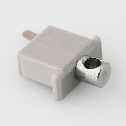 Klus - Klus-1443 Electrically Conductive End Cap for Klus MICRO-ALU - Use the electrically conductive end cap to create a connection between the power source and diodes in a fixture. These unique connectors enable you to mount fixtures using stainless steel wire for an aesthetic finish. Compatible with Klus MICRO-ALU Shallow Aluminum Channel (Anodized).
