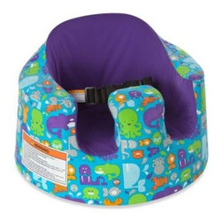 Bumbo - Bumbo Floor Seat Cover in Sea Critters - This cover is perfect for protecting your baby's seat. The easy to put on and take off cover features 2 convenient side pockets for storage and is fashioned with comfy, breathable fabric that feels nice against baby's skin.