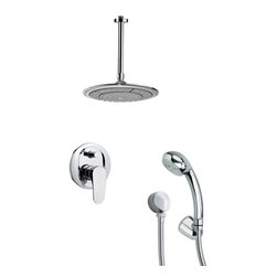 Remer - Shower Faucet Set with Handheld Shower - Single function shower faucet.