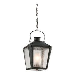 Troy Lighting - Nantucket 1-Light Outdoor Hanging Lantern - Nantucket 1-Light Outdoor Hanging Lantern