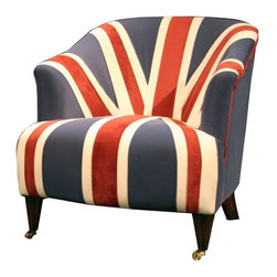 Redcoat Chair - I love the lines of this chair. It looks so comfortable, and it would be great to sit in it and have a cuppa.