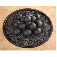 Eclectic Fire Pits by Timeless Wrought Iron