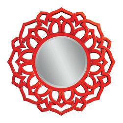 Bassett Mirror - Bassett Mirror Haiku Wall Mirror M3360BEC - Bassett Mirror Haiku Wall Mirror M3360BEC