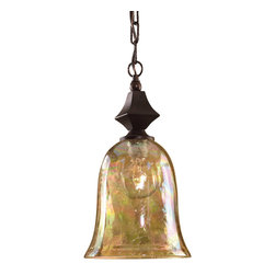 Uttermost - Distressed Spice Traditional 1 Light Mini Pendant - Distressed Spice Traditional 1 Light Mini Pendant