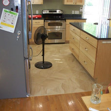 Contemporary Kitchen by E.J.Fikar Contracting LLC