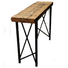 Rustic Side Tables And End Tables by Circle Goods Reclaimed