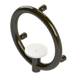 Invisia - Invisia Luxurious Soap Dish with Integrated Support Rail, Oil Rubbed Bronze - Invisia Luxurious Soap Dish with Integrated Support Rail