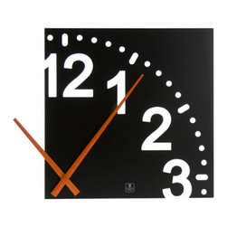 Cupecoy - Infinity Wooden Wall Clock - As with many things of beauty, the excitement of this clock is in what is